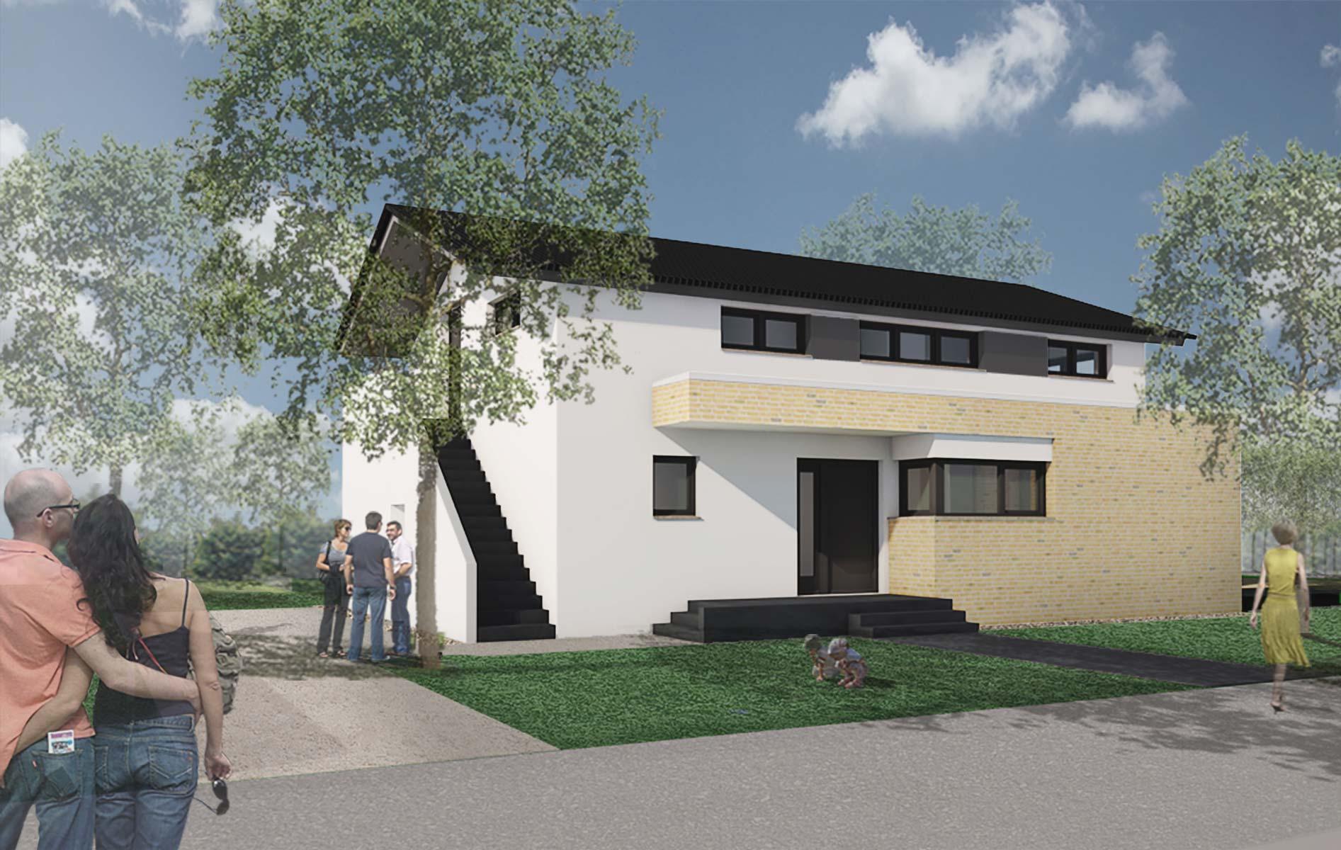 Wohnen Arbeiten Am Waldrand Potsdam Sabi Architekten Partgmbb